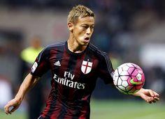 """Milan, Honda suona la carica: """"Battere la Juve è possibile"""" - http://www.maidirecalcio.com/2016/04/08/milan-honda-battere-la-juve-e-possibile.html"""