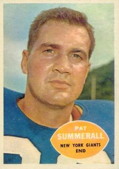 1960 Topps Pat Summerall