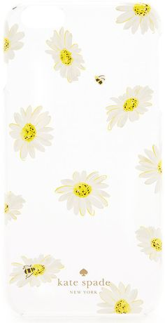 Kate Spade Falling Daisies iPhone 6 Plus/6s Plus Case ($45)