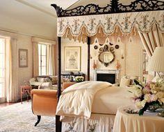 Soft Interior Design Canopy Bedroom