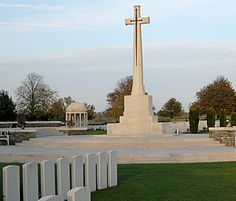Bedford House Cemetery, south of Ypres (Belgium)