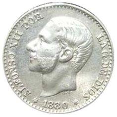 50 céntimos (1880)(*18-80) Madrid MS M - MBC