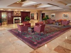 Crest Hollow's spacious and inviting main lobby creates the perfect welcome for your guests.