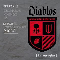 Personas regulares jugando un #deporte extraordinario #Rugby