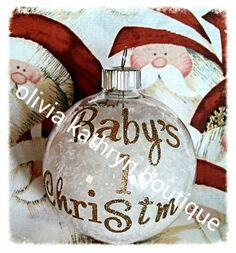 Beautiful handmade Christmas ornaments $8 each