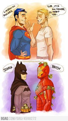 Avengers Meets Justice League