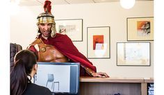 A strange client arrived at the IBEBI #Design showroom. This #Roman #Centurion was looking for an indestructible #chair. Read this bizarre story!  http://blog.ibebi.com/chairs/hoth-indestructible-chair-conquers-roman-empire/