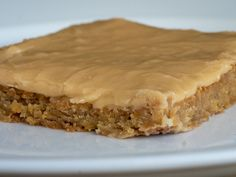 Peanut Butter Lunch Lady Cookie Bars. These are fantastic  12tomatoes.com