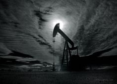 Pump Jack Photograph Pumpjack New Mexico Oilfield by rrobertsphoto