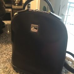 31a6caea1fe2 Black Dooney and Bourke Backpack Handbag Pre owned, great condition,  guaranteed authentic. I have a matching wallet I will be listing Dooney &  Bourke Bags ...
