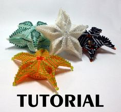 Instant Download Pendant, Brooch or Ornament From a simple bezel I use geometric techniques to create an origami-like star. The fully illustated step-by-step tutorial contains a link to my bead along video class where I take you through the tips and tricks of making this pretty little thing.