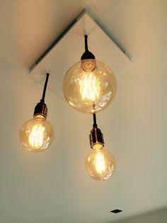 Maatwerk Lampen – Globes, Ceiling Lights, Interior Design, Lighting, House, Home Decor, Ladder, Cluster Pendant Light, Design Interiors