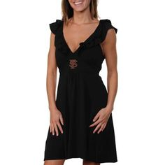 Florida State Seminoles (FSU) Ladies Sorority Girl Sundress - Black