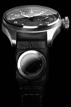 La Cote des Montres : IWC Schaffhausen annonce IWC Connect - Intégré dans les bracelets des garde-temps mécaniques d'IWC