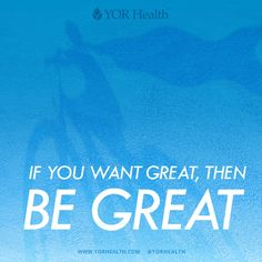 You attract what you are, not what you want. If you want great, then be #great!   #YORBestBody