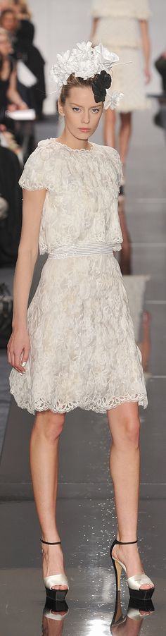 Chanel, Spring/Summer 2009, Haute Couture