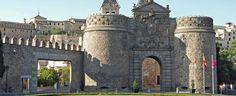 Nueva de Bisagra Gate in Toledo, Spain
