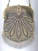 Carpet Design Beaded Purse