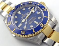 The Rolex Submariner Date 116613BLD - Bling is Beautiful #Watches