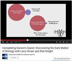 """Completando la ricerca di Darwin : la scoperta della """"materia oscura"""" della biologia /Completing Darwin's Quest: Discovering the Dark Matter of Biology"""