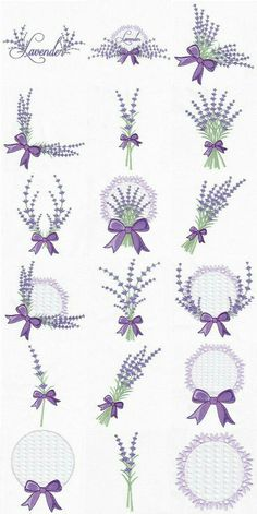 Embroidery Library Applique every Embroidery Designs Etsy into Embroidery Hoop Leaves Marks Lavender Crafts, Lavender Bags, Lavender Sachets, Lavender Flowers, Lavander, Hand Embroidery Stitches, Hand Embroidery Designs, Ribbon Embroidery, Cross Stitch Embroidery