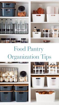 Kitchen Pantry Design, Kitchen Organization Pantry, Home Organisation, Home Decor Kitchen, New Kitchen, Home Kitchens, Organized Pantry, Organization Ideas, Storage Ideas