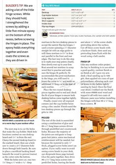#2420 Making Adirondack Chair Desk - Outdoor Furniture Plans