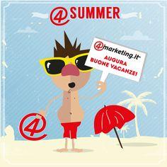 E' tempo di estate e il team 4marketing.it vuole augurarvi Buone Vacanze! Vi ricordiamo la nostra pausa estiva (dal 5 al 18 agosto) e dal 19 agosto ci trovate nella nuova sede in C.so San Martino 1, Torino (Piazza Statuto).   Buone Vacanze ovunque voi siate!!