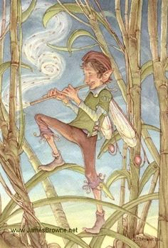 The Fairy Piper by James  Browne
