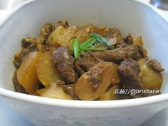 Stewed Beef Brisket in Chu Hou Sauce (柱侯蘿蔔炆牛腩) is a very popular dish in Chinese family cooking. It suits to serve in whatever seasons or...