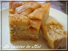 gâteau de crêpes aux pommes façon tatin