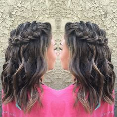 23 Most Stylish Homecoming Hairstyles #PromHairstylesMedium