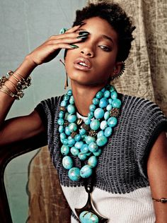 Willow Smith stuns in CR Fashion Book's boho-inspired shoot