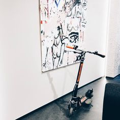 Art and Airwheel, both are important in my life.