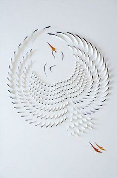 incredible papercuts by Lisa Rodden, via Dude Craft