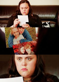 All Rae could see when she looked at that picture of Finn and Stacey was that Finn's arms wrapped around her with so much room left over. If Finn did that to her, there wouldn't be any room left. She'd fill him up, overwhelm him, and he'd see that she was too much. Too big, but also just TOO MUCH. [..]