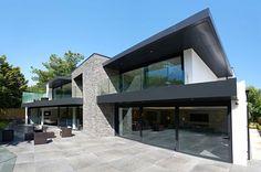Contemporary House in England Combines Stone and Glass - http://freshome.com/contemporary-house-england/