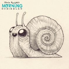 Slow and steady, little dude. #morningscribbles