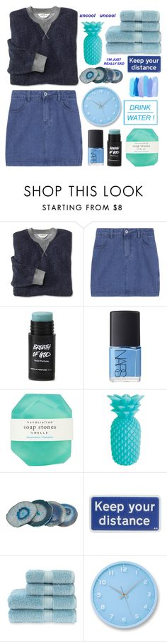 """Uncool"" by sabrina-ashlyn ❤ liked on Polyvore featuring NARS Cosmetics, Pelle, Sunnylife, Anya Hindmarch, Christy and Lemnos"