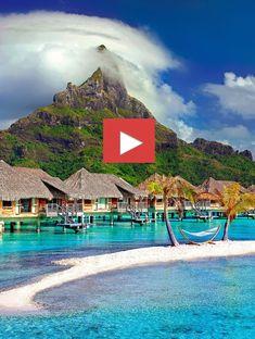 🇵🇫 ❤️ Bora Bora Island,Tahiti ❤️ 🔔¡Turn On! POST Notifications 😍 Do you like this shot? Very good experience. The quality of the island… Boracay Resorts, Bora Bora Island, I Need Vitamin Sea, Free Beach, Travel Abroad, Travel Trip, French Polynesia, Beach Pictures, Travel Pictures