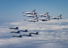 The Air Force has released tentative flight routes and times for the May 2 joint Thunderbirds-Blue Angels flyovers of Washington, Baltimore, and Atlanta. Military Flights, Flying Together, Aerial Images, Battle Of Britain, Military Jets, Celebrity Travel, Blue Angels, Army & Navy, Us Air Force