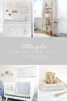 Modern and Chic Girl's Nursery
