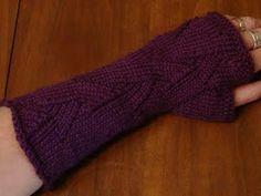 Yarn Yearnings: Flame hat + armwarmers pattern