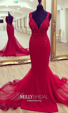 Charming Prom Dress,Sexy Mermaid Prom Dress, Tulle Evening Party Dress, Spaghetti Straps Prom Dresses,Wedding Party Gown My Bridal Hair Straps Prom Dresses, Beaded Prom Dress, Tulle Dress, Homecoming Dresses, Sexy Dresses, Formal Dresses, Tulle Lace, Graduation Dresses, Pageant Dresses