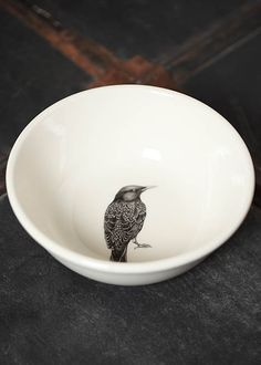 starling cereal bowl