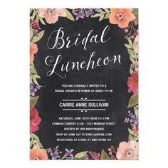 Floral Wreath | Bridal Shower Luncheon