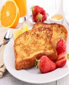 Low FODMAP & Gluten Free - Cinnamon French toast with maple syrup and orange http://www.ibssano.com/low_fodmap_recipe_cinnamon_french_toast_syrup_orange.html