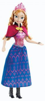 Frozen Musical Magic Anna Doll
