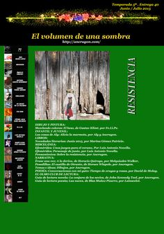 EL VOLUMEN DE UNA SOMBRA: Resistencia: Temporada 5ª. Entrega 39ª. Junio/Julio 2015