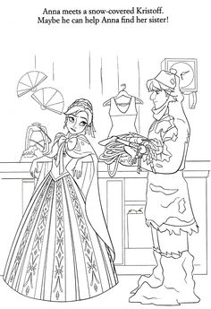 Disney Frozen Anna and Kristoff Coloring Pages High quality free printable coloring, drawing, painting pages here for boys, girls, children . Frozen Coloring Pages, Disney Princess Coloring Pages, Disney Princess Colors, Coloring Book Art, Disney Colors, Coloring For Kids, Colouring Pages, Adult Coloring Pages, Coloring Sheets